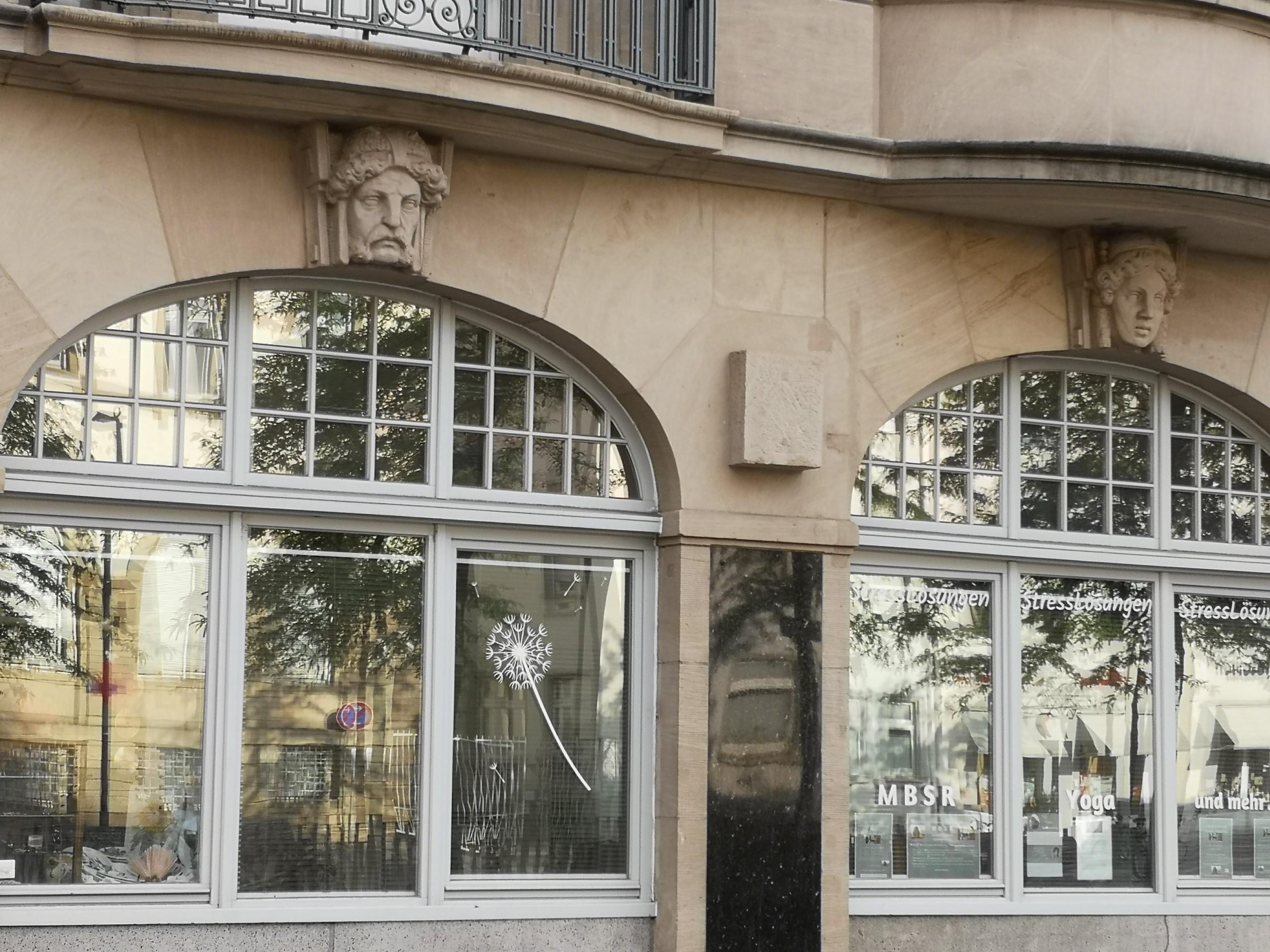 Fensterfront außen